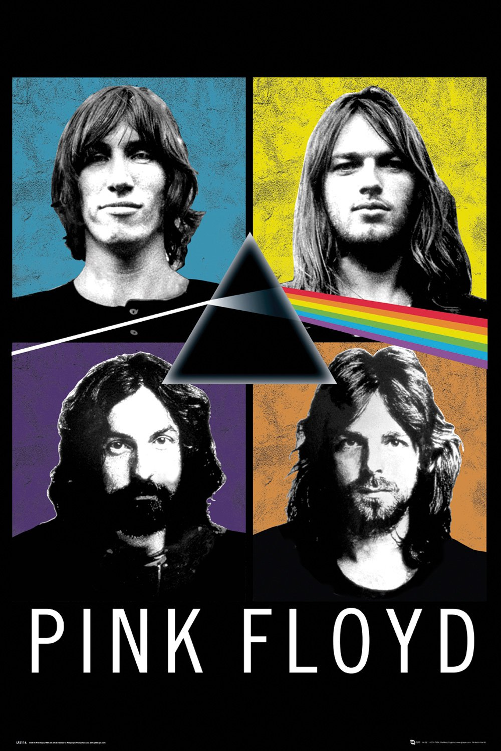 Pink Floyd - Band - Poster - egoamo.co.za