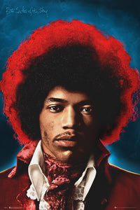 Jimi Hendrix - Both Sides of the Sky Poster - egoamo.co.za