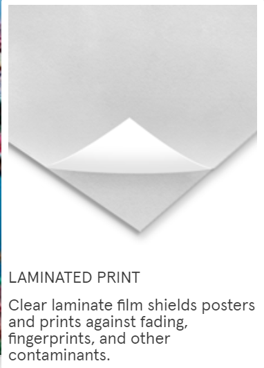 One Sheet Poster Lamination - egoamo.co.za