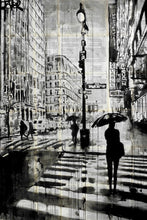 Loui Jover - Manhattan Moment Art Print - egoamo.co.za