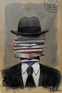 Loui Jover - Well Read Art Print - egoamo.co.za