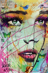 Loui Jover - Wild Thing Art Print - egoamo.co.za