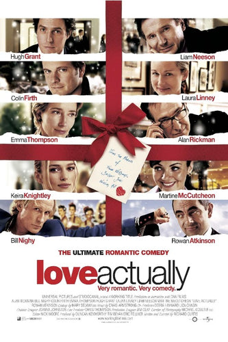 Love Actually Movie Poster - Egoamo Posters