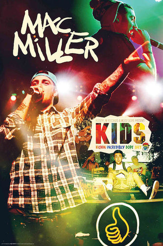 Mac Miller - Kids Poster - egoamo.co.za