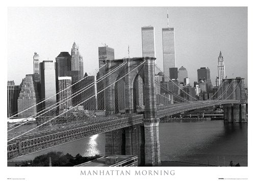 Manhattan Morning Poster - egoamo.co.za