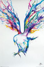 Marc Allante - Bird water colour poster - egoamo.co.za