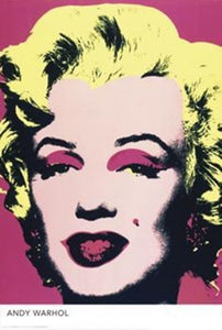 Marilyn by Andy Warhol - Poster - egoamo.co.za