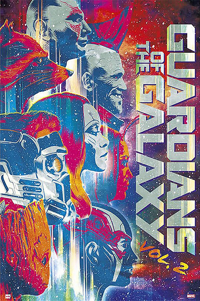 Marvel - Guardians of the Galaxy Vol 2 Art Poster