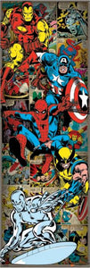 Marvel Comics Retro Door Poster - egoamo.co.za
