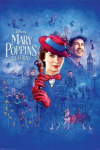 Disney's Mary Poppins Returns Poster - egoamo.co.za