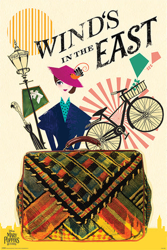 Disney's Mary Poppins Returns (Wind in the East) Poster - egoamo.co.za