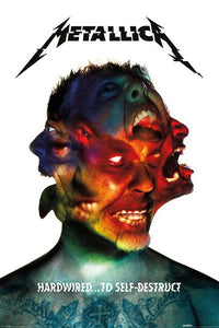 Metallica - Hardwired to Self-Destruct Album Cover Poster - egoamo.co.za