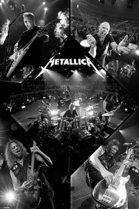 Metallica - Live in Concert Poster - egoamo.co.za