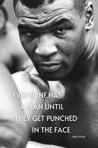 Mike Tyson Quote Poster