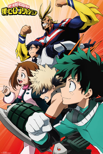 My Hero Academia - Go Time Poster egoamo.co.za