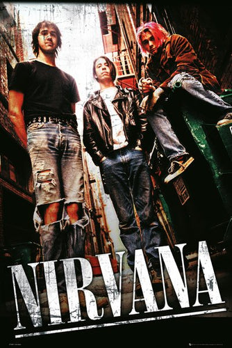 Nirvana  - Alley Poster - egoamo.co.za