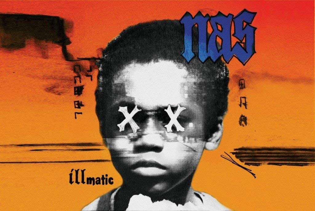 Nas - Illmatic Album Cover Poster - egoamo.co.za