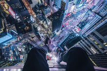 On the Edge of Times Square - New York City Poster - egoamo.co.za