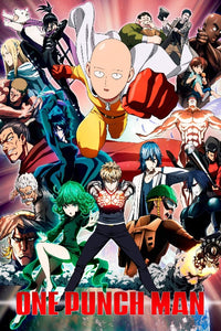 One Punch Man Poster - Anime Poster - egoamo.co.za