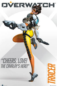 Overwatch - Tracer Poster - egoamo.co.za