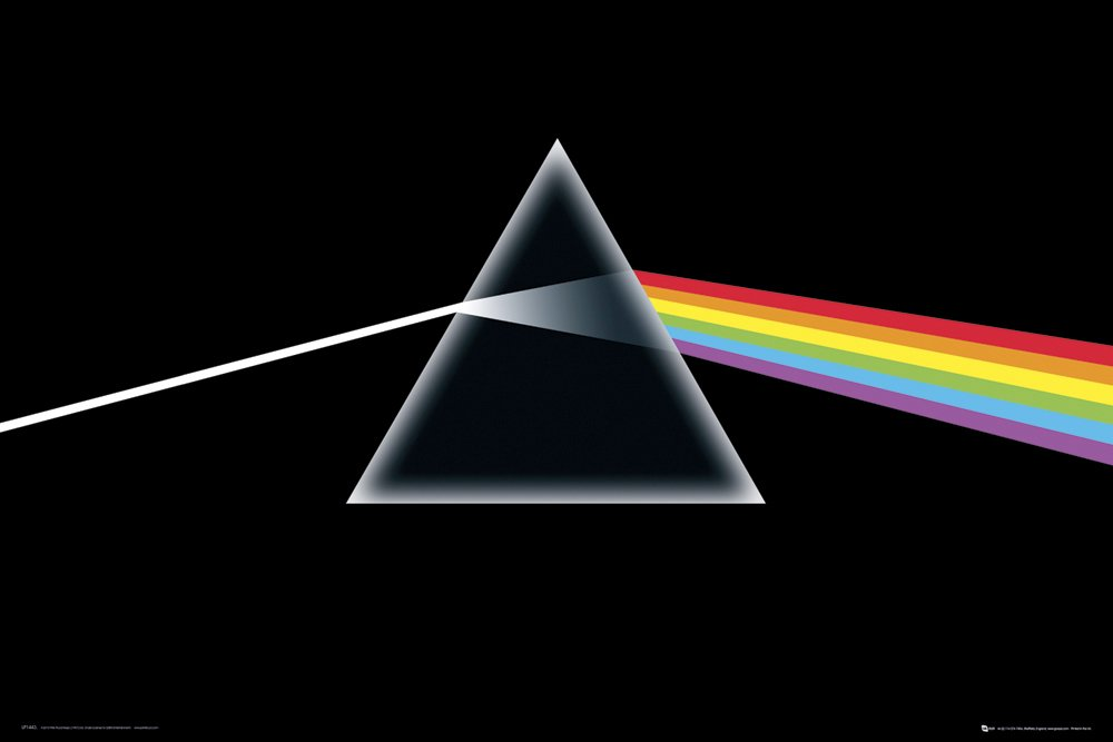 Pink Floyd The Dark Side of the Moon Music poster - EgoAmo.co.za