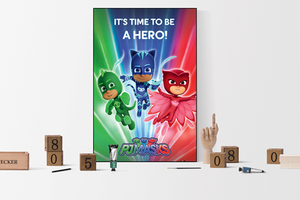PJ Masks - Poster - egoamo.co.za