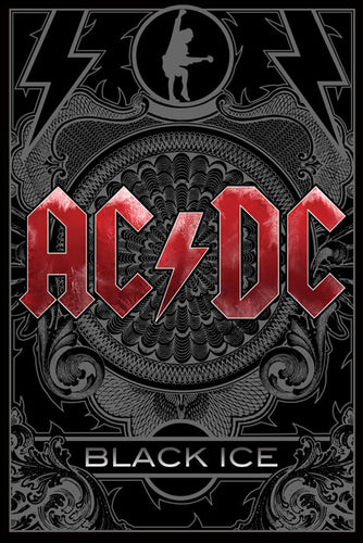 AC/DC - Black Ice Poster - egoamo.co.za
