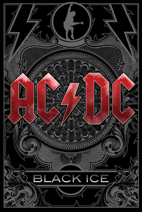 AC/DC - Black Ice - Poster - egoamo.co.za