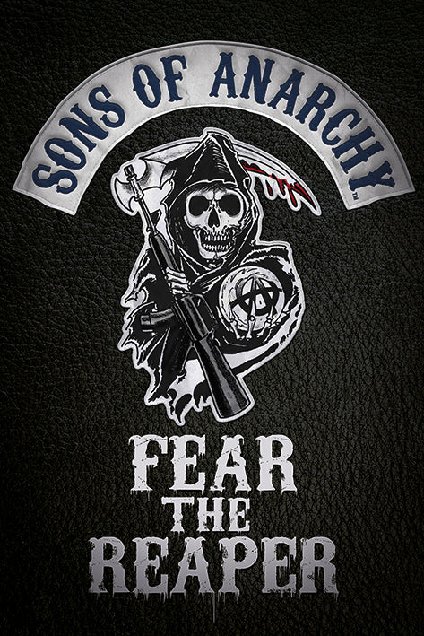 Sons of Anarchy - TV series poster - egoamo.co.za