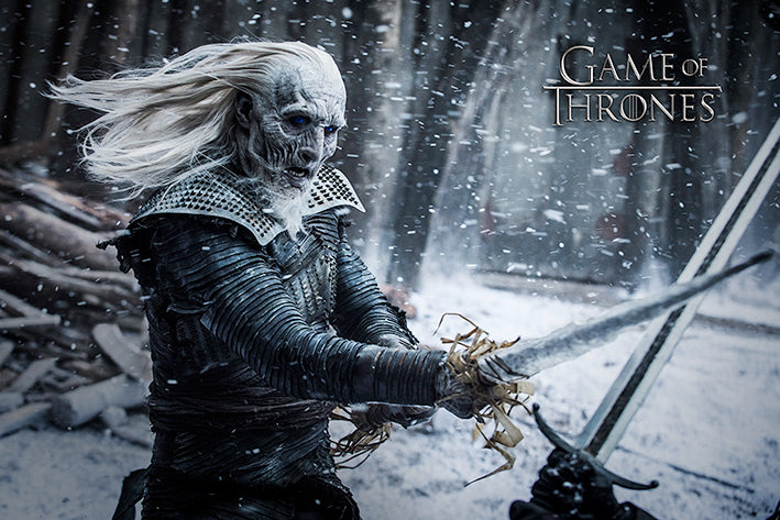 Game of Thrones - White Walker - Poster - egoamo.co.za