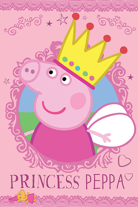Princess Peppa Pig - Poster - egoamo.co.za
