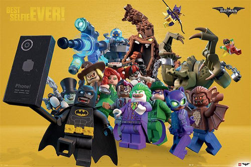 Lego Batman - Best Selfie Ever - Poster - egoamo.co.za