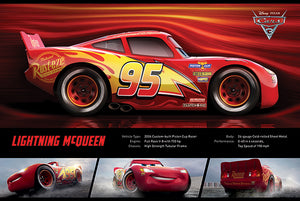 Cars 3 - Lightening McQueen - Poster - egoamo.co.za