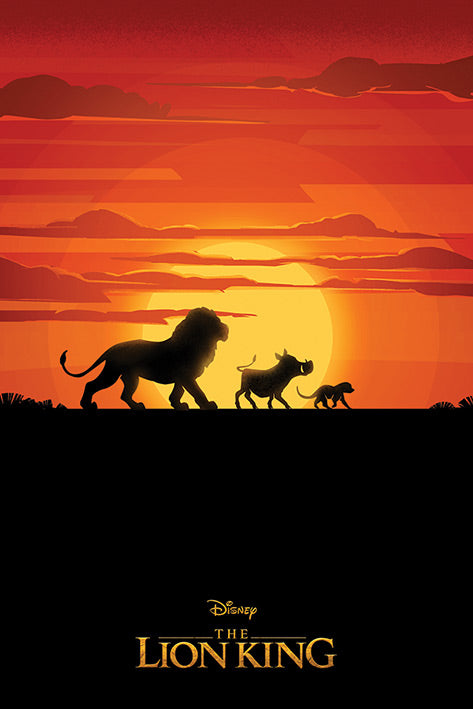 Disney's Animated The Lion King Poster - egoamo.co.za