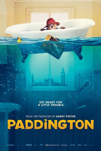 Paddington Bear Collectible Movie Poster - egoamo.co.za