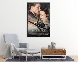 Pearl Harbor Movie Poster - egoamo posters - room mockup