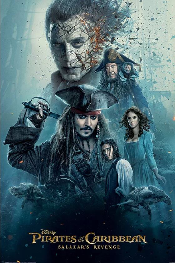 Pirates of the Caribbean - Salazar's Revenge Poster - egoamo.co.za