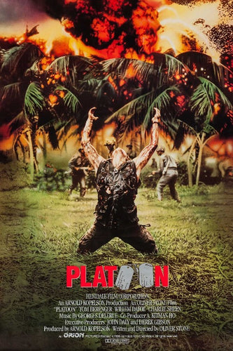Platoon Movie Poster - egoamo posters