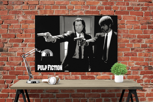 Pulp Fiction - Vincent and Jules Poster - egoamo.co.za
