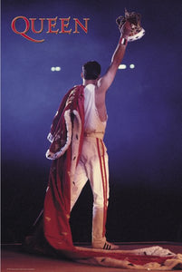 Queen - Freddie Mercury Crown Poster - egoamo.co.za
