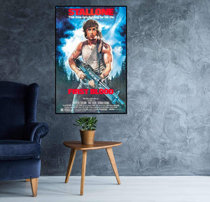 Rambo First Blood Poster - egoamo.co.za