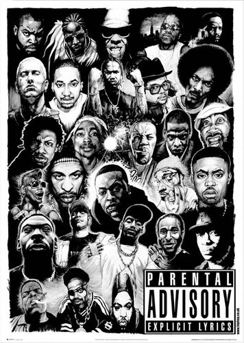 Rap Legends Poster - egoamo.co.za
