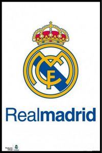 Real Madrid Club Emblem Poster - egoamo.co.za