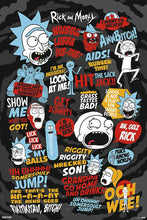 Rick and Morty - Quotes Poster egoamo.co.za posters