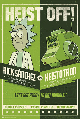 Rick and Morty - Heist Off Poster