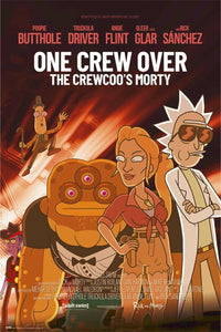 Rick and Morty - One Crew Poster  Egoamo.co.za Posters