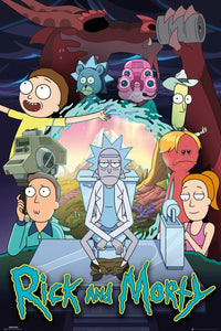 Rick and Morty - Season 4 Poster egoamo.co.za posters