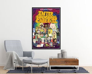 Rick and Morty: Interdimensional Cable Poster - egoamo.co.za