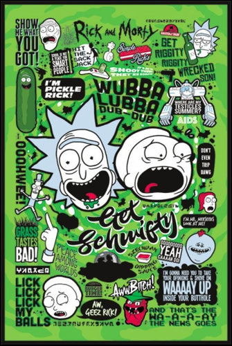 Quotes Rick and Morty Poster - egoamo.co.za