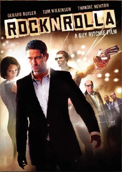 RocknRolla (2008) - Laminated, Mounted and Framed Poster - egoamo.co.za